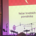 The Day after the Conference, an Evening of Croatian Emigrants is taking place